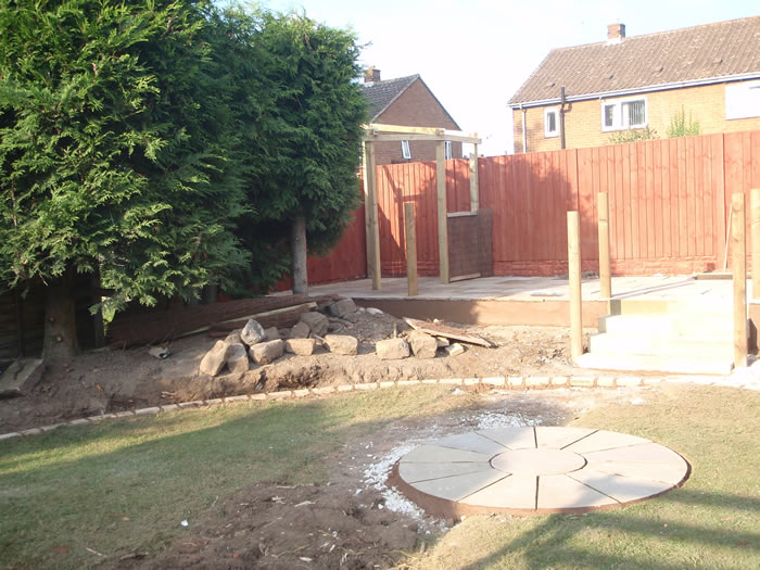 Landscape Garden Design Wirral : New landscaping gallery march